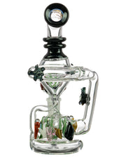 Mini East Australian Current Recycler | Rasta Vapors
