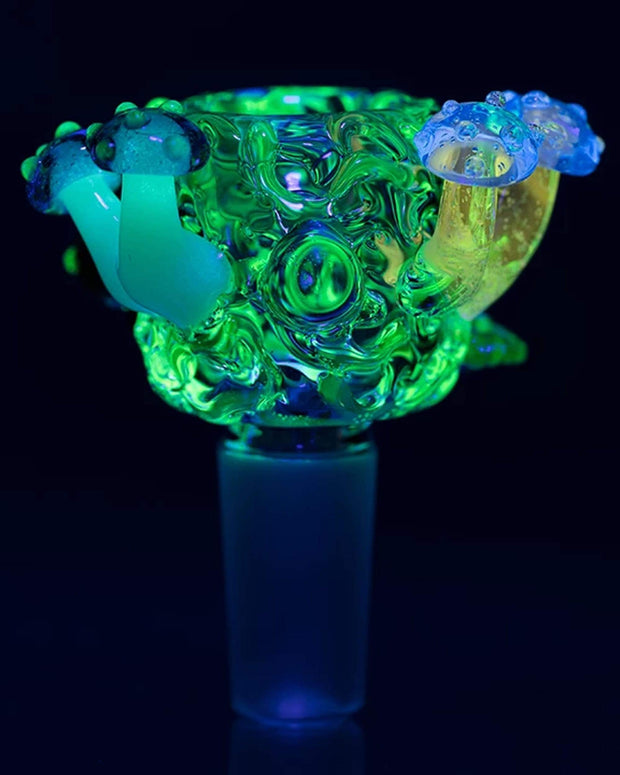 UV Reactive Cosmic Critters Bowl Piece