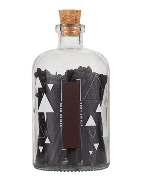 Higher Standards Large Match Bottle Black