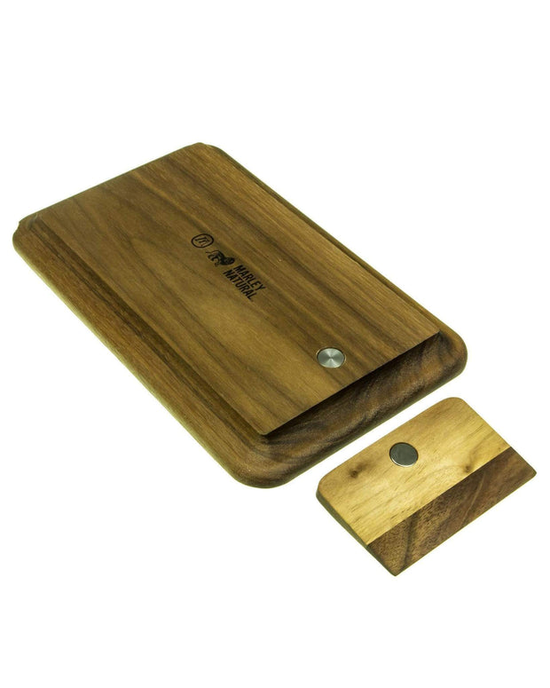 wooden rolling tray