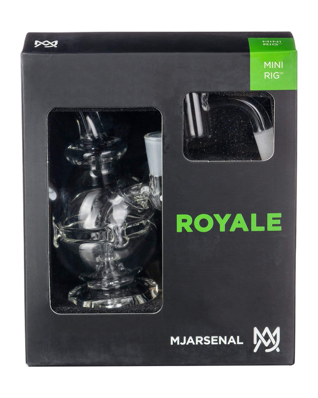 MJ Arsenal Royale Mini Rig in Box