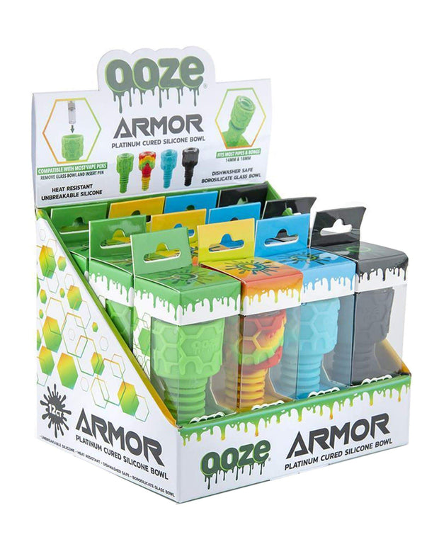 Ooze Armor 12 Count Display