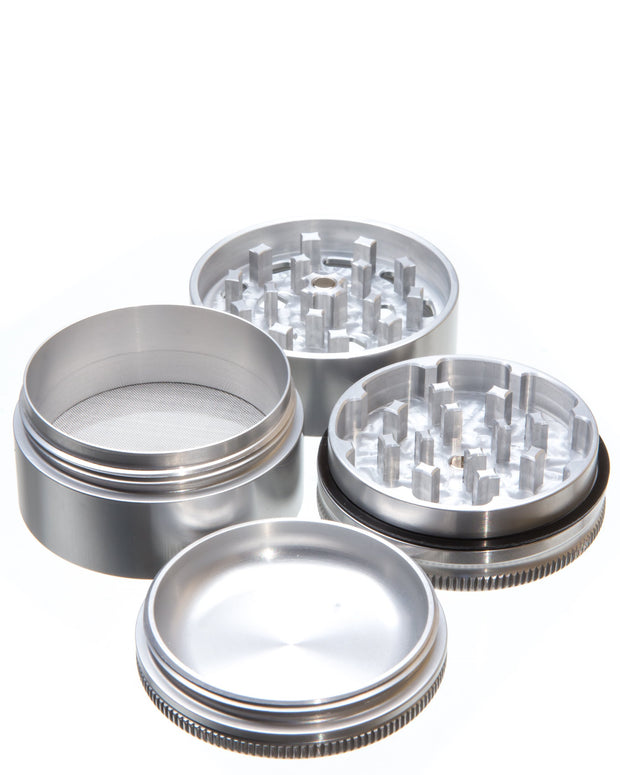 Medium 4 Piece Herb Grinder | Rasta Vapors