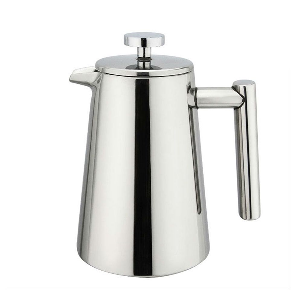 French press, stainless steel