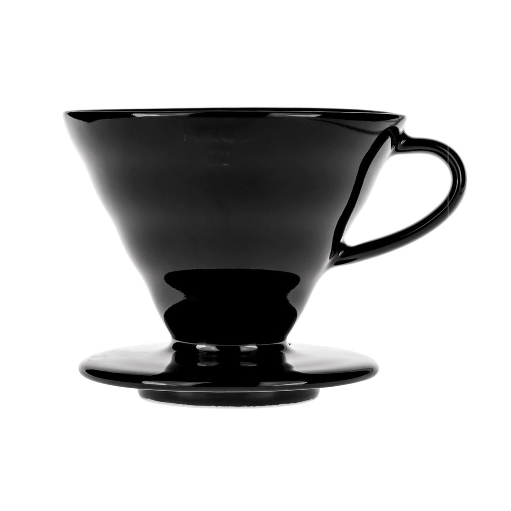 Hario V60-02 ceramic dripper, black