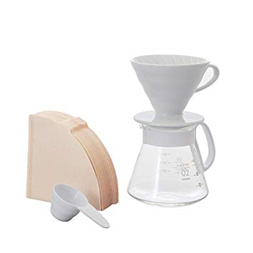 Hario v60 02 ceramic dripper set
