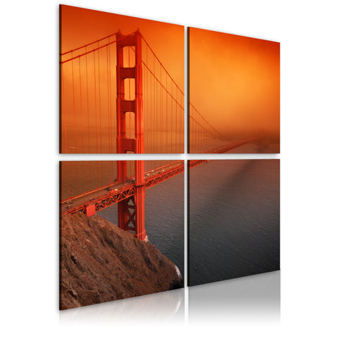 Tableau - Pont du Golden Gate: San Francisco