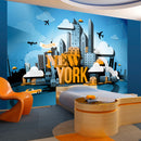Papier peint - New York - welcome
