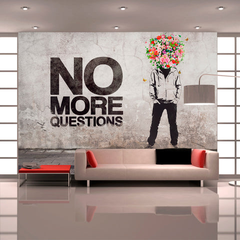 Papier peint - No more questions