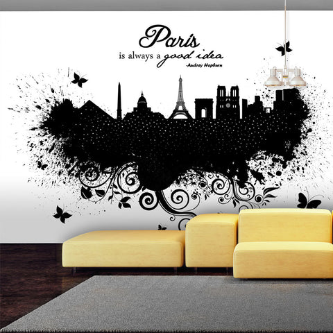 Papier peint - Paris is always a good idea