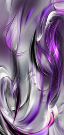 Papier-peint pour porte - Photo wallpaper – Purple abstraction I