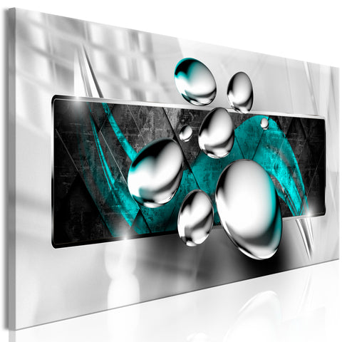 Tableau - Shiny Stones (1 Part) Narrow Turquoise