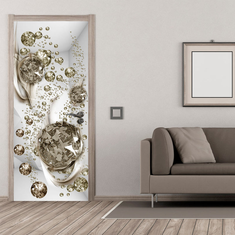 Papier-peint pour porte - Photo wallpaper - Bubble abstraction I