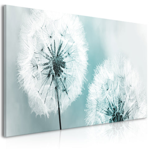 Tableau - Fluffy Dandelions (1 Part) Blue Wide
