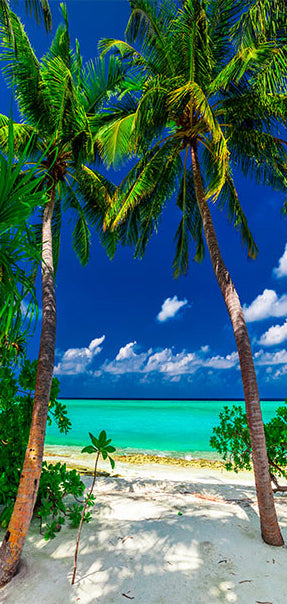 Papier-peint pour porte - Photo wallpaper - Island, beach I