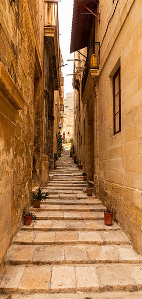 Papier-peint pour porte - Photo wallpaper – Narrow alley I