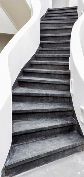 Papier-peint pour porte - Photo wallpaper – Stairs I