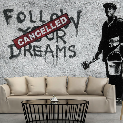 Papier peint - Dreams Cancelled (Banksy)