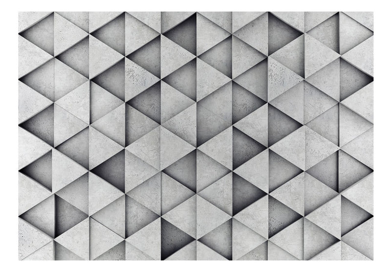 Papier peint - Grey Triangles