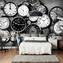 Papier peint - Retro Clocks
