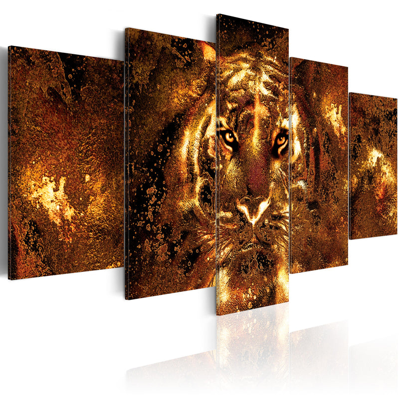 Tableau - Golden Tiger