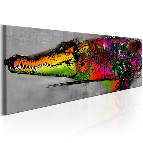 Tableau - Colourful Alligator