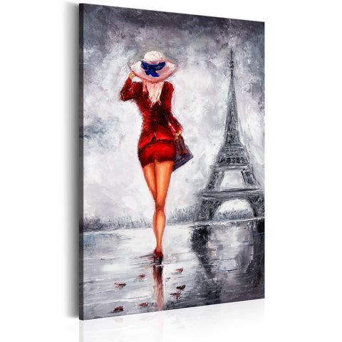 Tableau - Lady in Paris