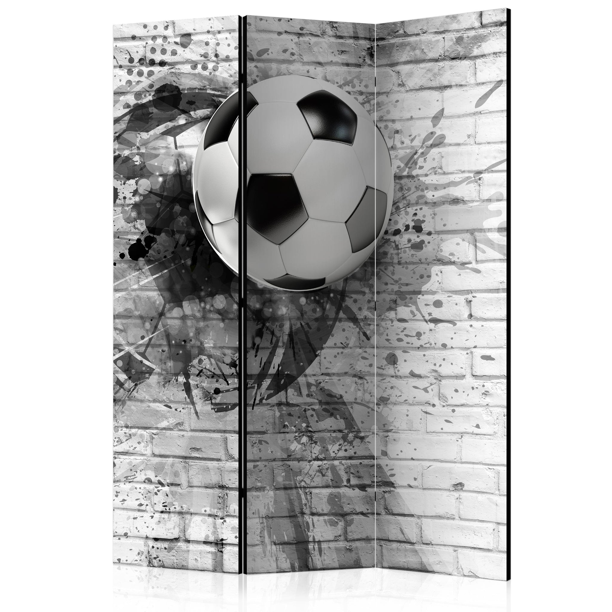 Paravent 3 volets - Dynamic Football [Room Dividers]