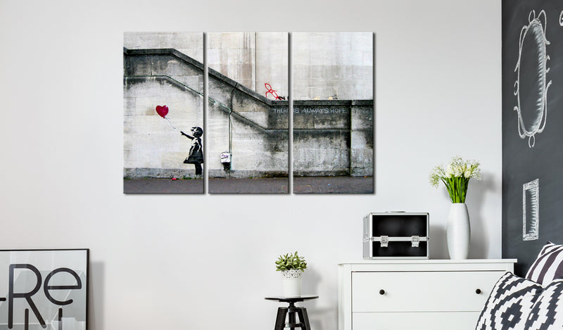 Tableau - Girl With a Balloon by Banksy