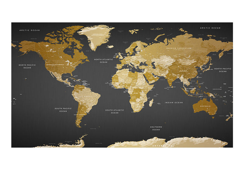 Papier peint XXL - World Map: Modern Geography II