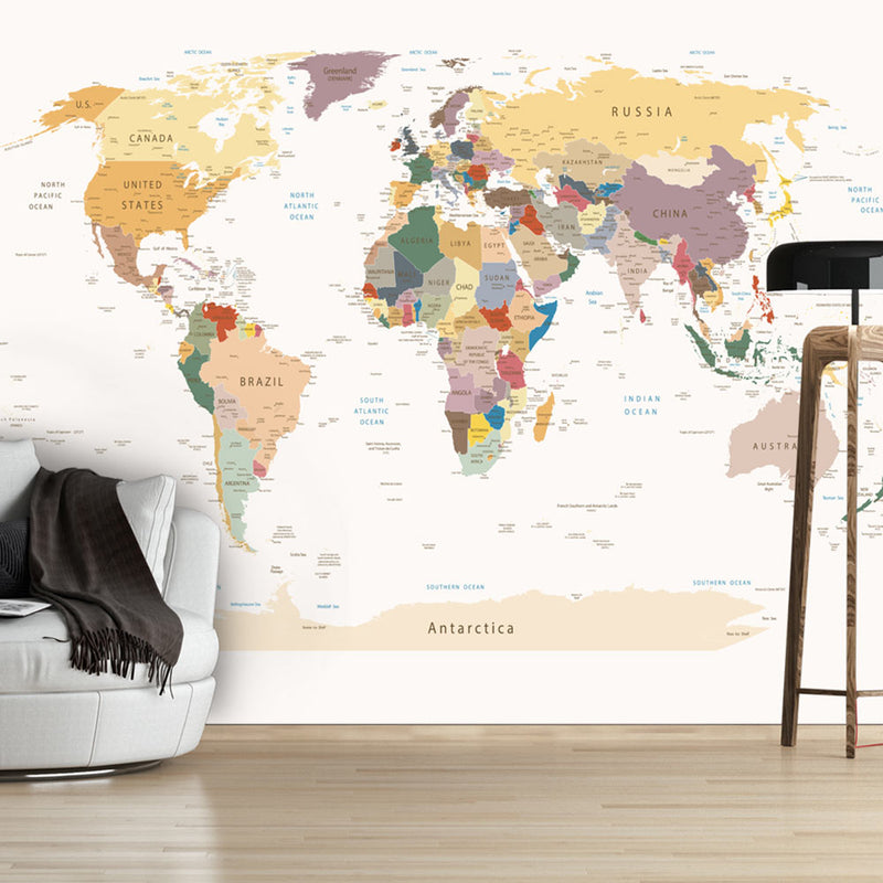 Papier peint - World Map