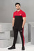 English Zip Polo Twinset - Black/Red