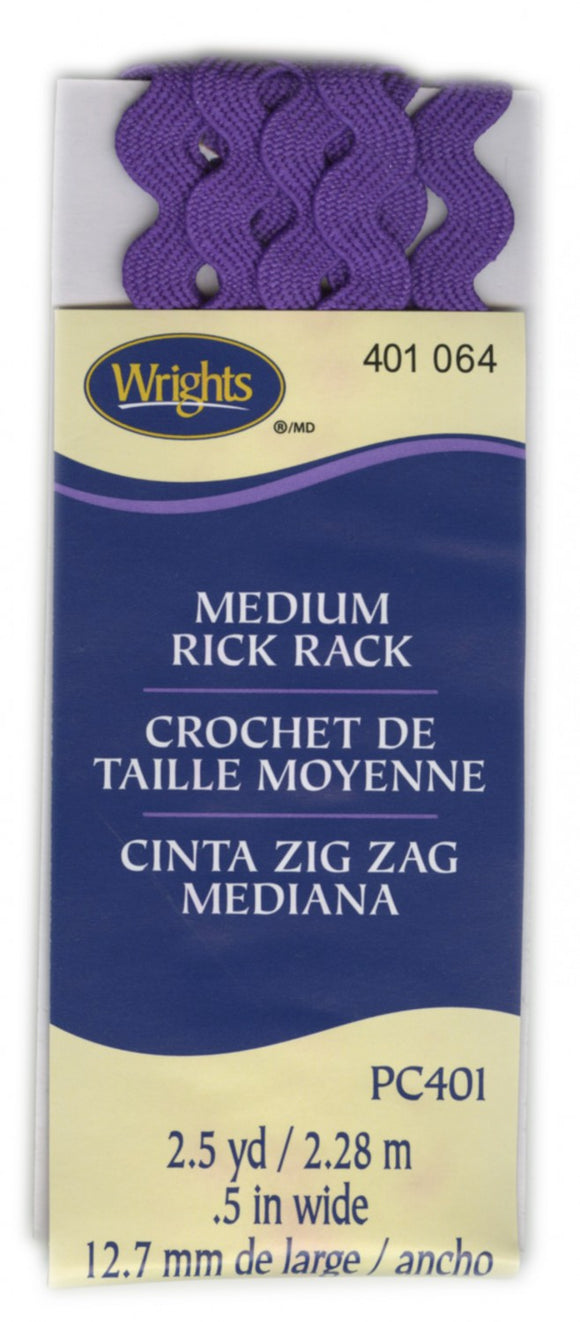 Rick Rack Medium Purple