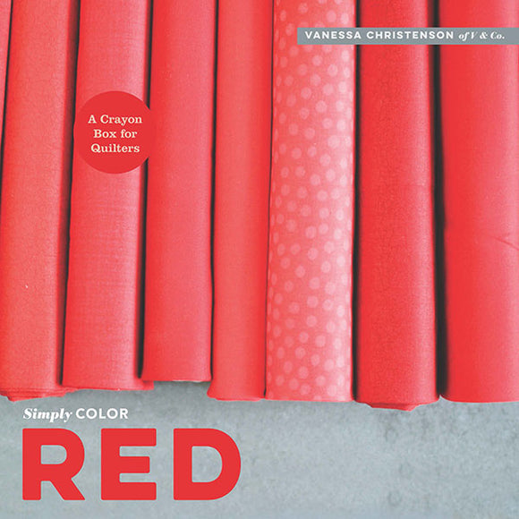 Simply Color: Red Book