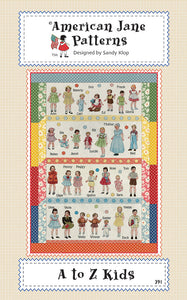 A to Z Kids American Jane Patterns