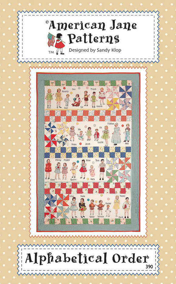 Alphabetical Order American Jane Patterns