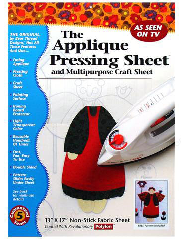 Applique Pressing Sheet