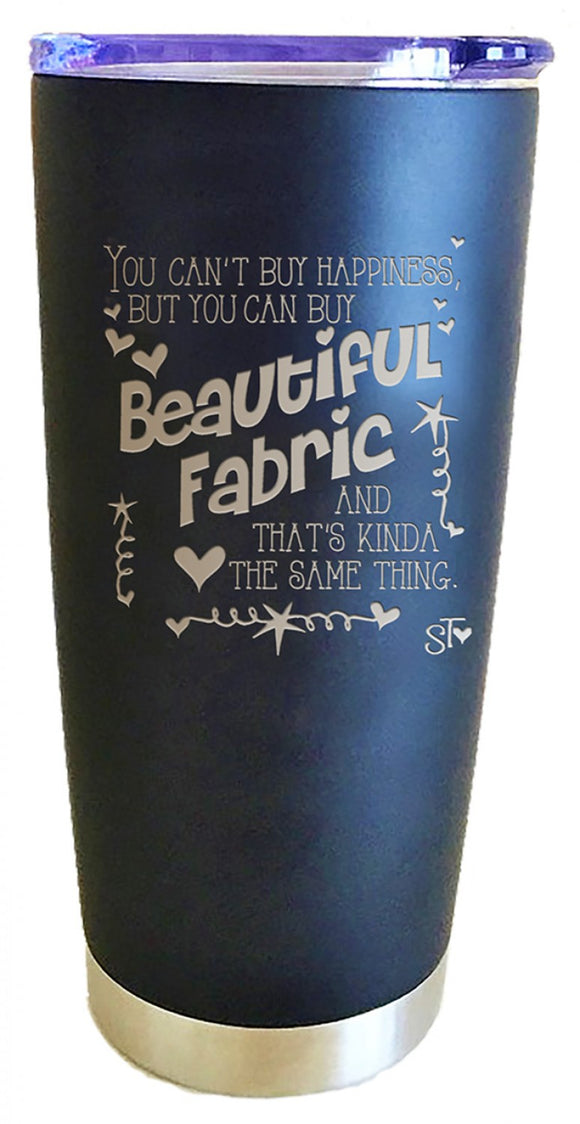 Beautiful Fabric Premium Tumbler