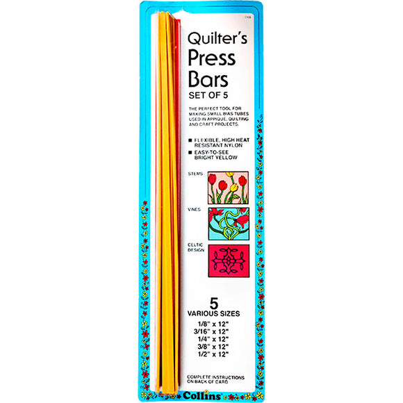 Quilters No Melt Press Bars