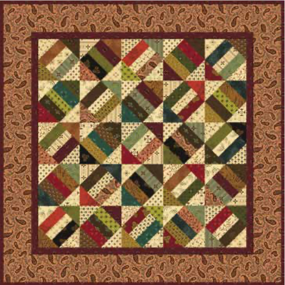 Cracker Crumbs Quilt Kit #20200002