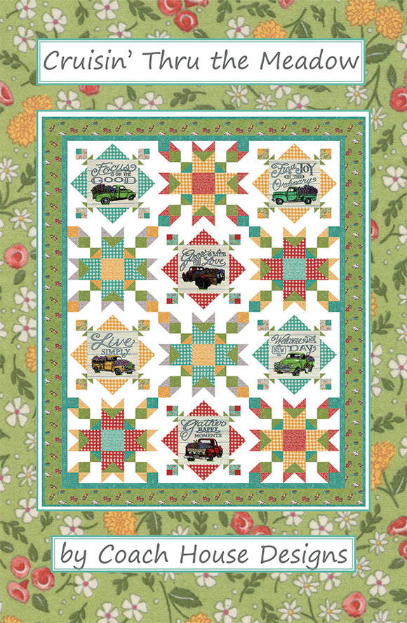 Crusin' Thru the Meadow Quilt Kit #20200004