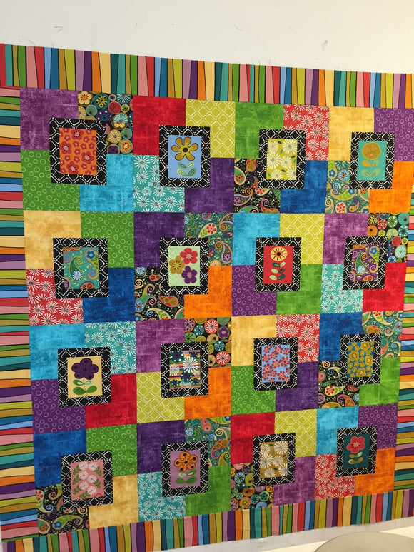 Cutting Garden Quilt Kit 2018007