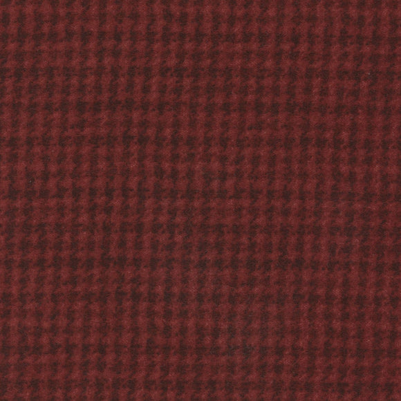 Woolies Flannel Dark Red MASF 18503-RJ