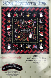 Most Wonderful Time Quilt Kit