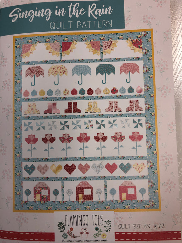 Singing in the Rain Quilt Kit