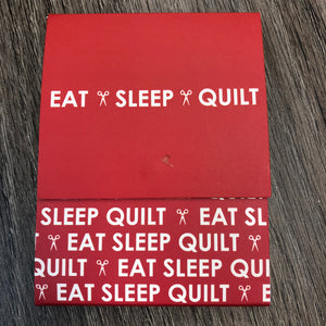 Eat, Sleep, Quilt Note Pad