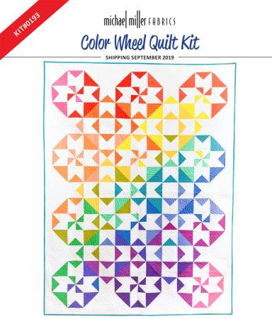Color Wheel Quilt Kit