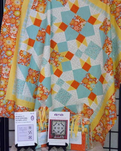 Lazy Afternoon Quilt Kit 2018010