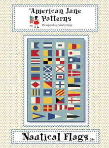 Nautical Flags American Jane Pattern