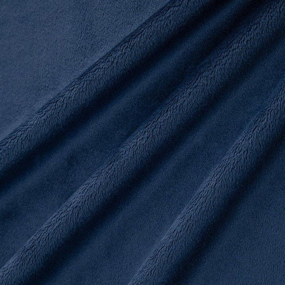 Shannon Fabrics Solid Cuddle 3 Navy